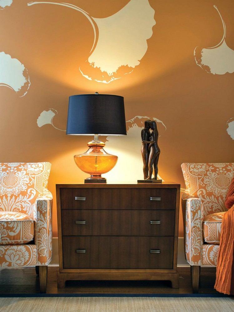 wände streichen ? ideen für das wohnzimmer - wand farbe streichen ...