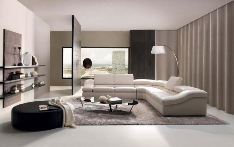 Wandgestaltung im Wohnzimmer - 85 Ideen und Beispiele - raumgestaltung ideen