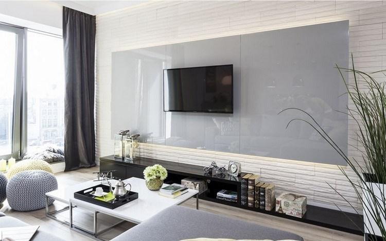Wandgestaltung im Wohnzimmer - 85 Ideen und Beispiele - wandgestaltung wohnzimmer beispiele