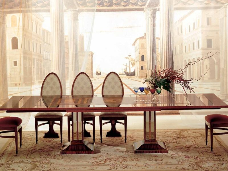 Esstisch Im Antik   Look 37 Designer Möbel   Esszimmer Antik