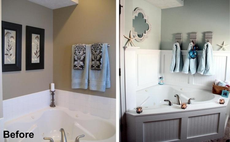 Badewanne einmauern mit Ablage - 35 Ideen und Anleitung - badewanne einmauern ideen