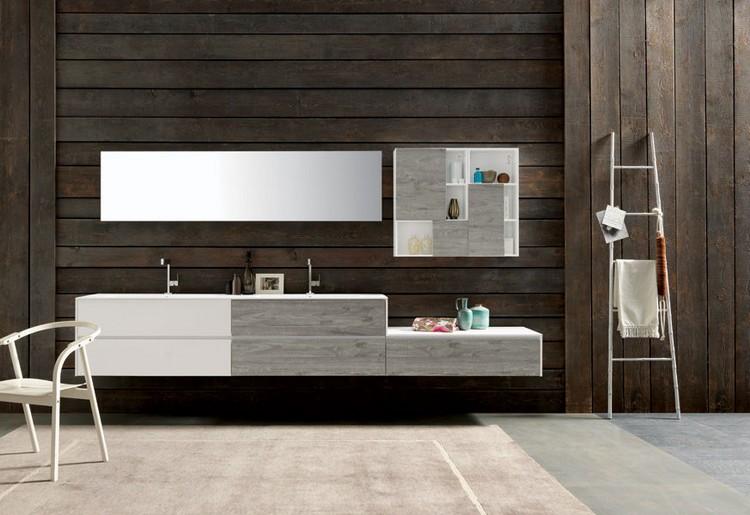 Badezimmer Unterschrank Grau - Design