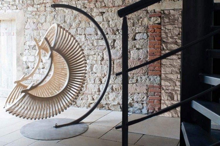 stunning designer hangesessel mit gestell pictures - house design ... - Designer Hangematte Metall Gestell