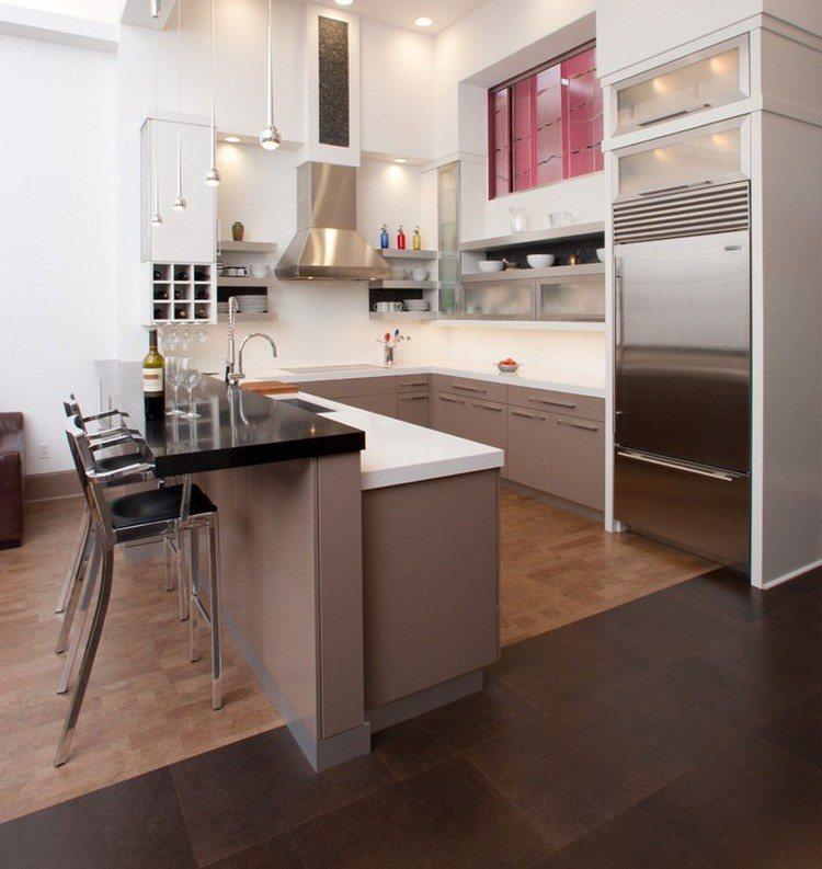 Küchen Modern U Form Kochkorinfo   Moderne Einbaukuche Tipps Funktionelle  Gestaltung