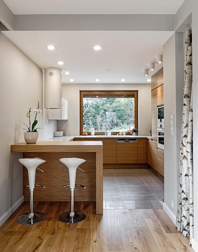 Holz Tresen Küche