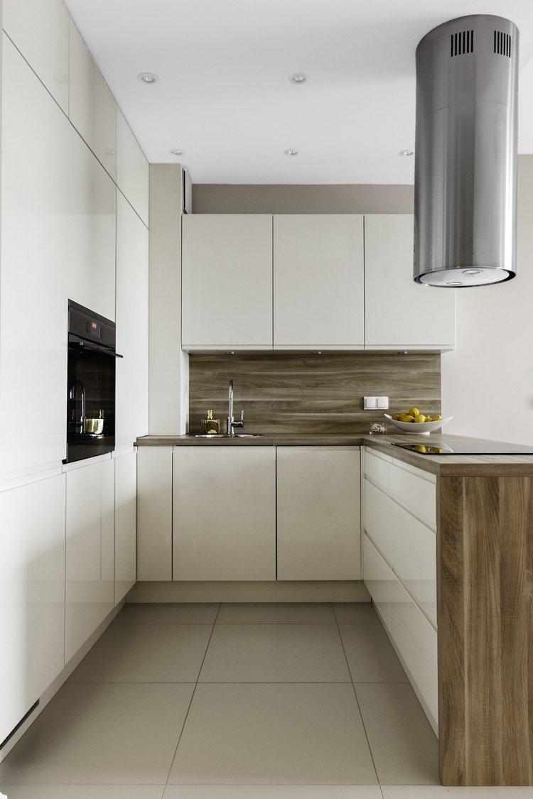 kleine offene k che u form die k che mit halbinsel platzsparend und multifunktionell. Black Bedroom Furniture Sets. Home Design Ideas