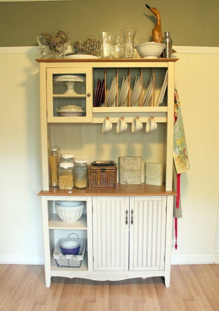 k che vintage wei schrank storage high cabinet lowboard