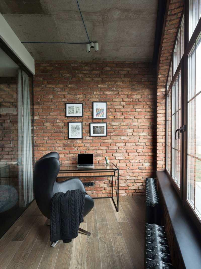 3d Wallpaper Decorating Ideas Loft Mit Grauen M 246 Beln Stilvoll Und Modern Einrichten