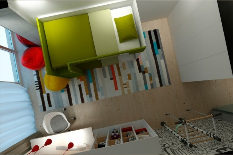 Raumgestaltung Ideen in Grau - 5 moderne Appartements - raumgestaltung ideen