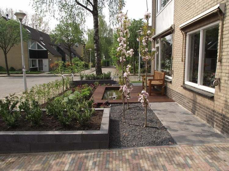 Vorgarten gestalten - 41 pflegeleichte und moderne Beispiele - kleinen vorgarten gestalten
