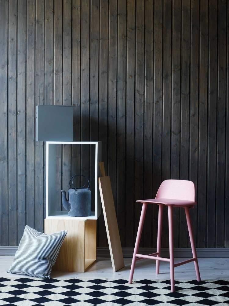 Wandverkleidung Holz Selber Machen ~ wanddeko holz selber machen holzkisten gestappelt wandverkleidung holz