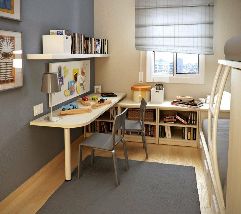 Wohnideen Für Kleine Räume   25 Wohn  \ Schlafzimmer   Wandfarbe Wohn Und  Schlafzimmer