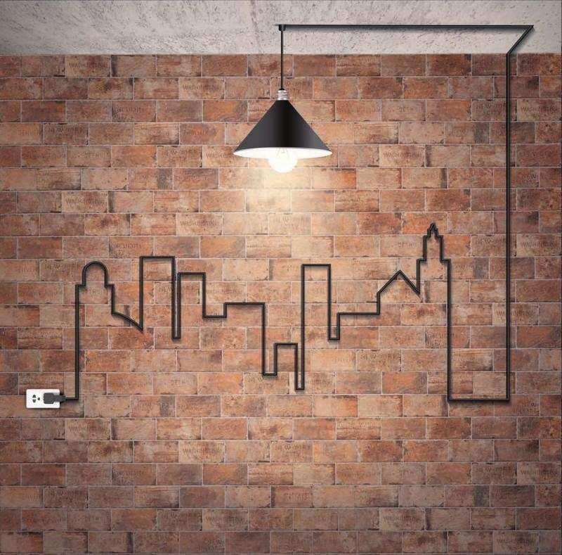 Backstein Tapete - Wandgestaltung mit realistischem Effekt - wandgestaltung industrielook