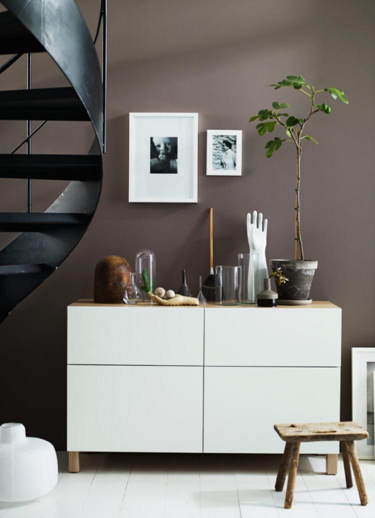 Ikea Besta Regal - 25 Ideen mit dem Aufbewahrungssystem - esszimmer kommode ikea