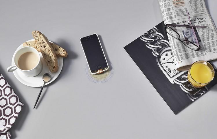 Kabelloses Laden Corian Arbeitsplatte - Design - kuche arbeitsplatte kabelloses ladegerat