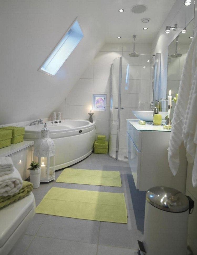 Kleine Badezimmer mit Dachschräge zur Wellness-Oase - badezimmer 2 wahl