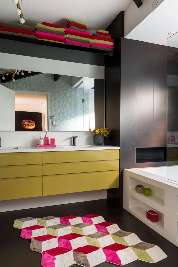 Badezimmer Schwarz Weiß Gelb | Bad Und Spiegelleuchten Wandleuchten ...