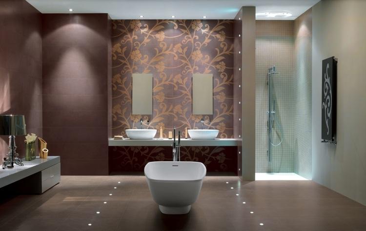 LED in Fliesen einbauen - Ideen für indirekte Beleuchtung - badezimmer einbau