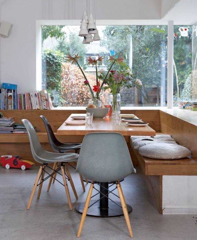 Sitzecke Kuche Ideen Sitzbank Essbereich Villawebinfo   Moderne Holz Kuche  Schiffini