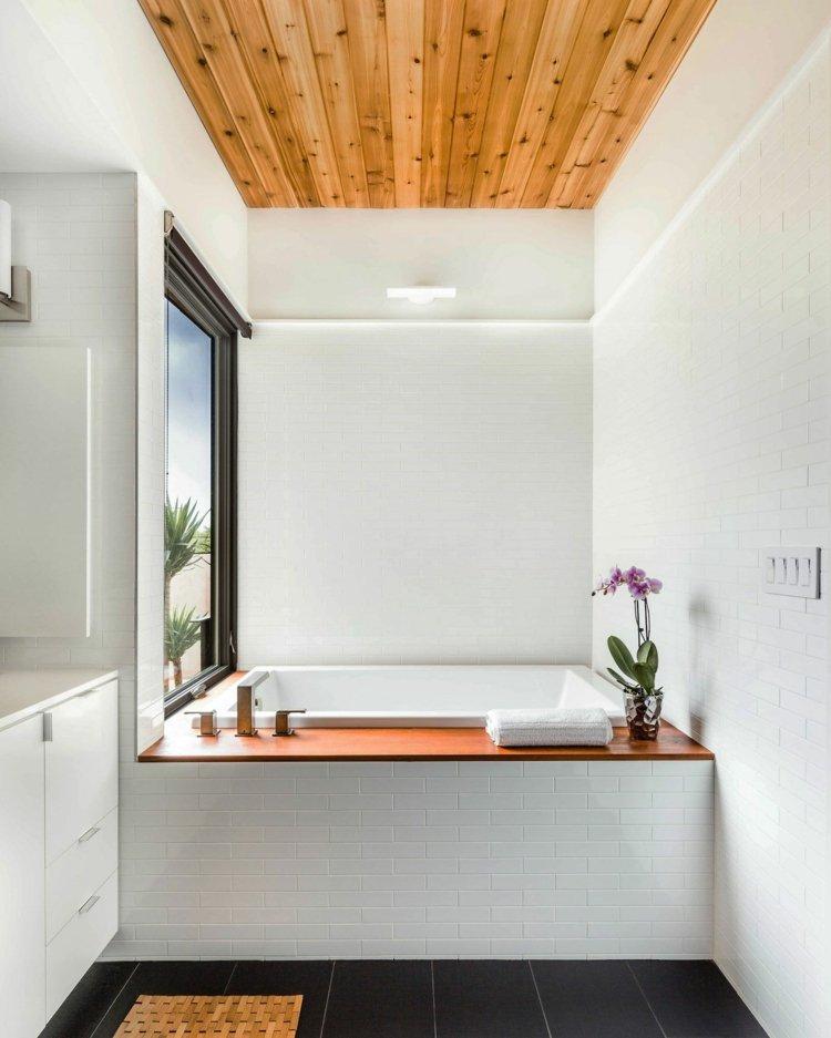 ... Modernes Bad Mit Holz   27 Ideen Für Möbel, Boden, ...