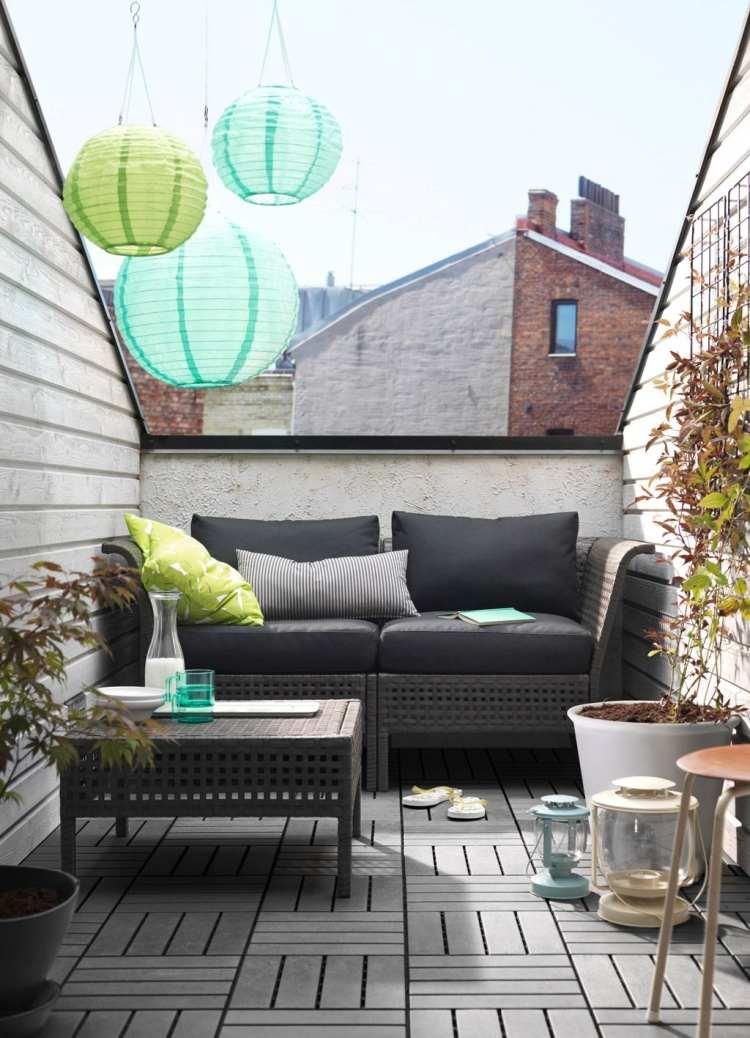 Balkonmobel Fur Kleinen Balkon Ideen. balkongestaltung ideen ...
