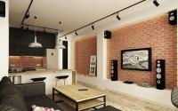 Industrial design wohnzimmer ~ Ihr Traumhaus Ideen