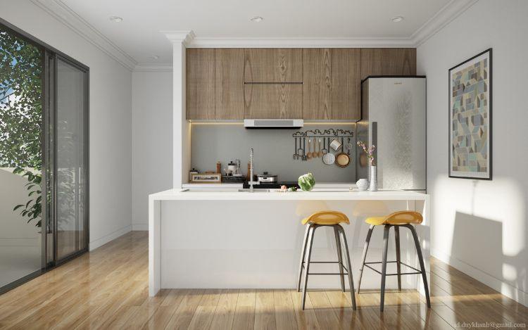 Moderne Küchen Holz ambiznes - moderne kuchen weiss holz