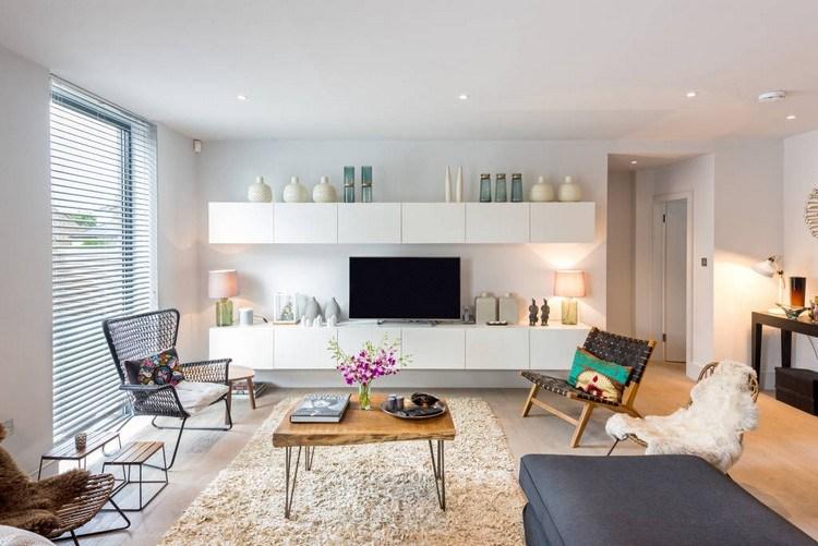 Inspirations autour du meuble besta du0027IKEA Bureaus, Composition - wohnzimmer design weiss