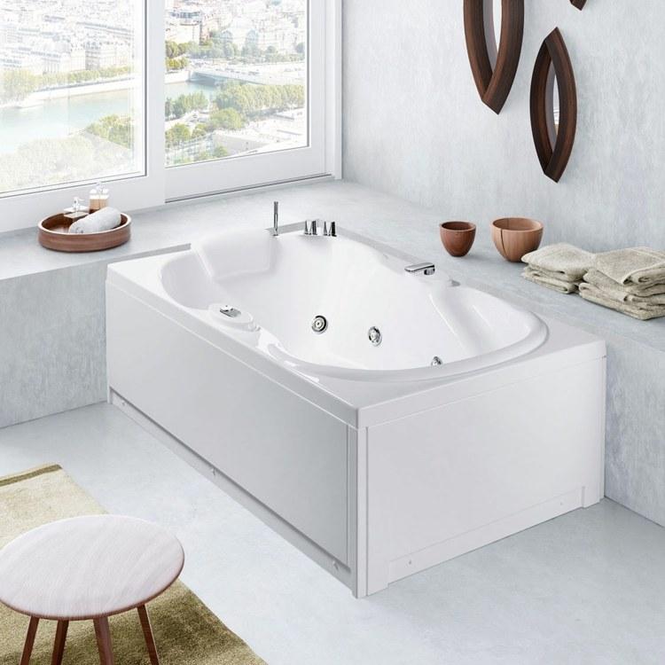 Badewanne Im Badezimmer 24 Erstaunliche Designs Badezimmer Vorwand .