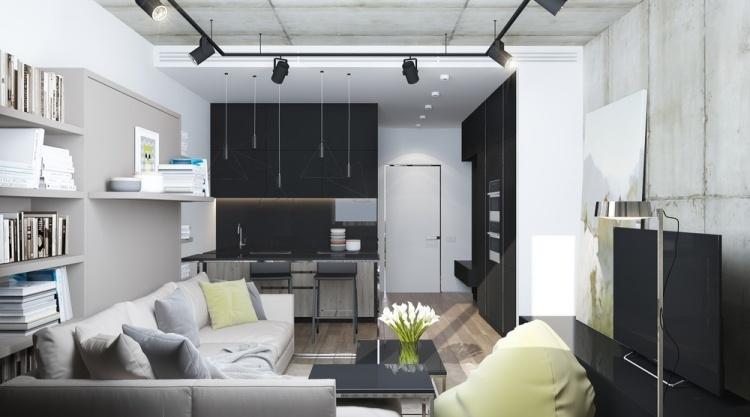 ... Kleine Wohnung Einrichten   6 Clevere Wohnideen Für 30 Qm   Mini Wohnung  Einrichten ...
