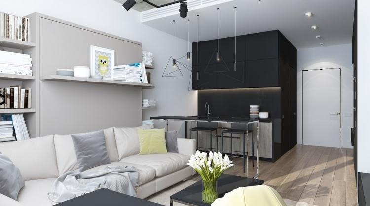 Kleine Wohnung einrichten - 6 clevere Wohnideen für 30 Qm - 50 qm wohnung einrichten