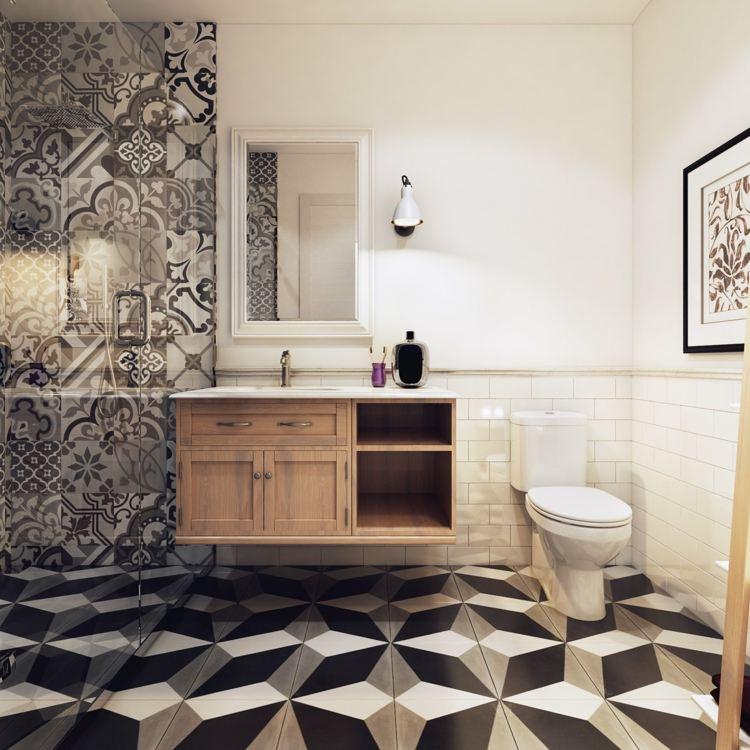 Dachwohnung im skandinavischen stil  Badezimmer Skandinavischen Stil. skandinavische badezimmer ...