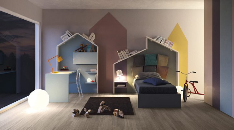 Bucherregal Design Carpanelli Wohnung Highlight - Design