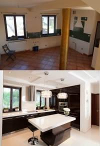 Wohnung renovieren - 17 Vorher-Nachher Design Projekte