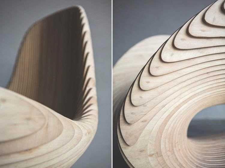 Designer Stuhl Betula als Inbegriff fließenden Dekonstruktivismus - designer stuhl dekonstruktivismus betula