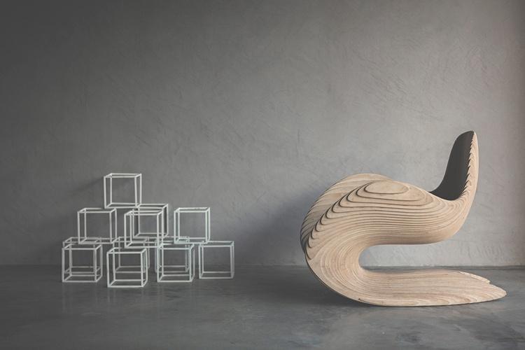 Stuhl Sitzfläche Sperrholz u2013 Dekoration Bild Idee - designer stuhl dekonstruktivismus betula