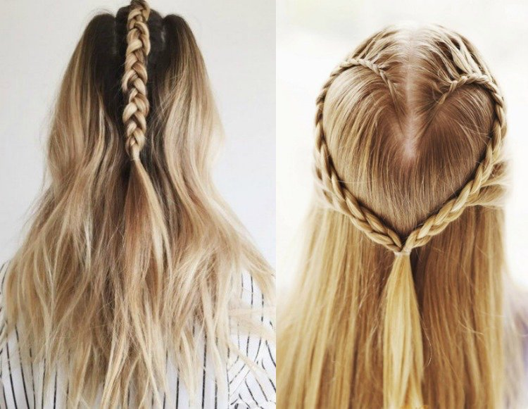 Zöpfe Flechten Anleitung Make Hairstyles Yourself - 22 Inspirations And