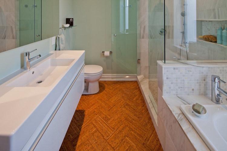 Bodenbelag Fürs Bad   12 Alternativen Zu Fliesen   Badezimmer Boden