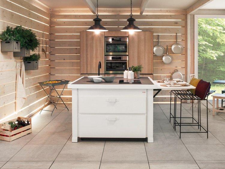 Miniküche Design ambiznes - kompaktes minikueche design konzept