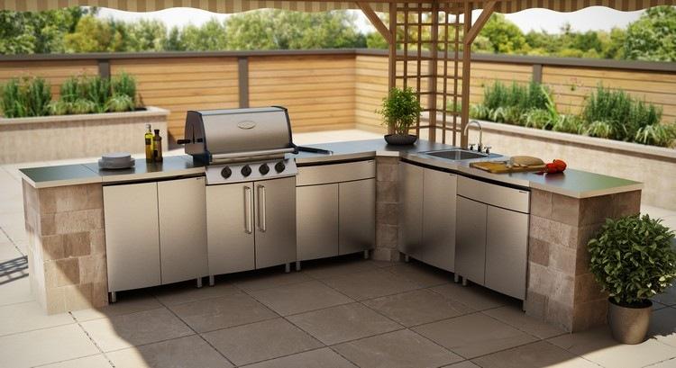 Outdoor Küche Beton Arbeitsplatte