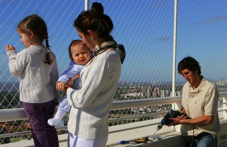 Balkon kindersicher gestalten - Tipps für die Kindersicherung - kueche kindersicher machen tipps