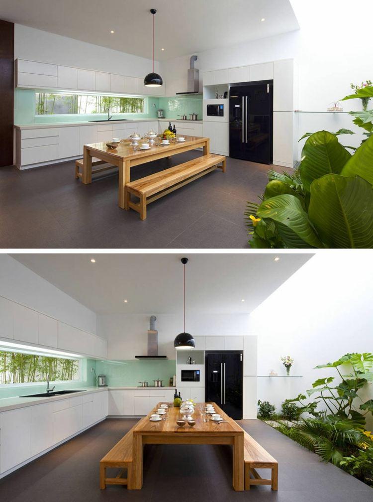 Schmale Fenster Kuechen Gestaltung u2013 dogmatiseinfo - schmale fenster kuechen gestaltung
