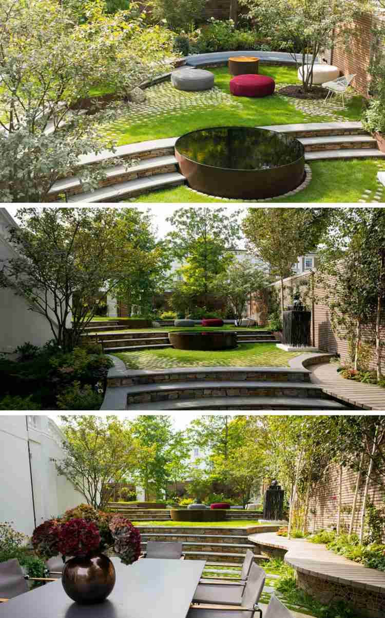 Gartengestaltung Terrasse Mit Hang Gartengestaltung Terrasse Hanglage