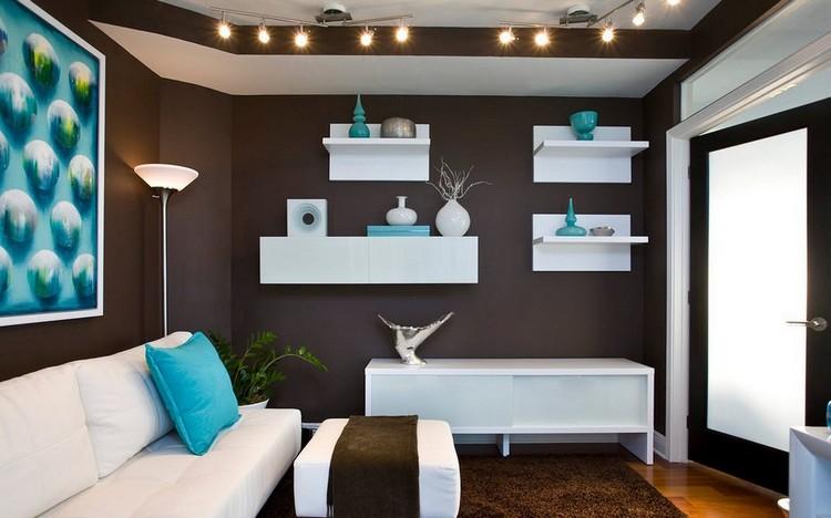 Best Wohnzimmer Braun Turkis Photos - House Design Ideas - wohnzimmer in braun