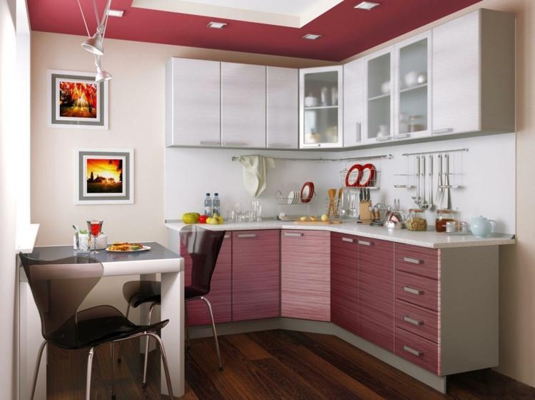 Den Eckschrank der Küche komfortabel gestalten - 20 Ideen - eckschrank kueche einrichtung ideen