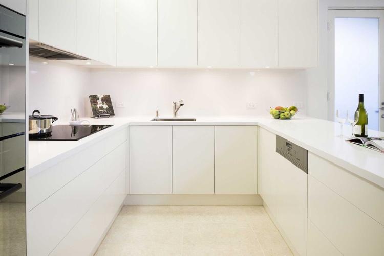 Moderne Kuche Minimalistisch Design Villawebinfo   Moderne Kuche In Minimalistischem  Stil Funktionalitat Und Eleganz In Einem