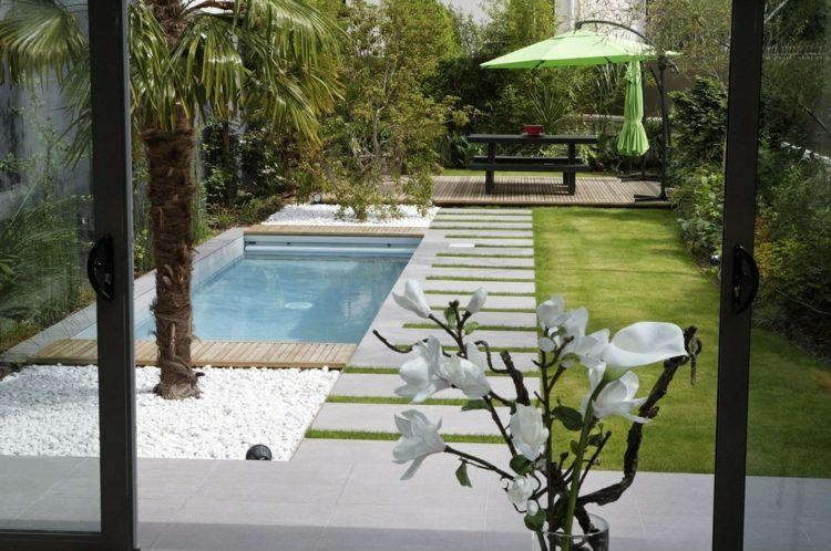 136 best Garten ideen images on Pinterest Garden ideas - kleine garten sichtschutz