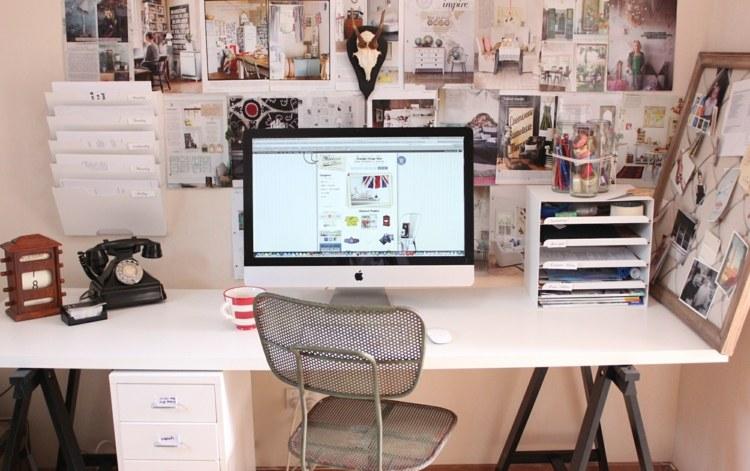 Einen Einfachen Schreibtisch Bauen   17 Schnelle DIY Ideen   Schreibtisch  Diy