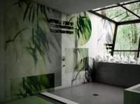 Badezimmer Tapete - Waschbares Vinyl als Schmuckstck fr ...