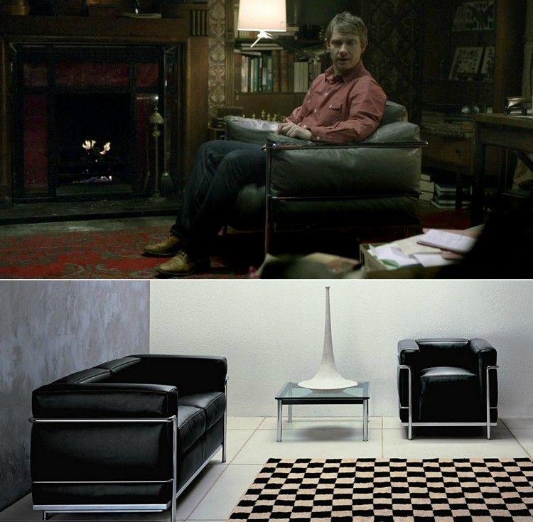 Designklassiker Möbel Und Leuchten In Bekannten Filmen Und Serien   Klassisches  Mobel Design